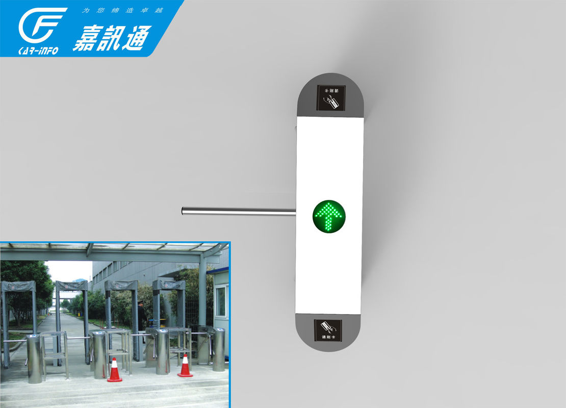 Rfid Security Tripod Turnstile Gate , Indoor Tripod Barrier Gate For Museum