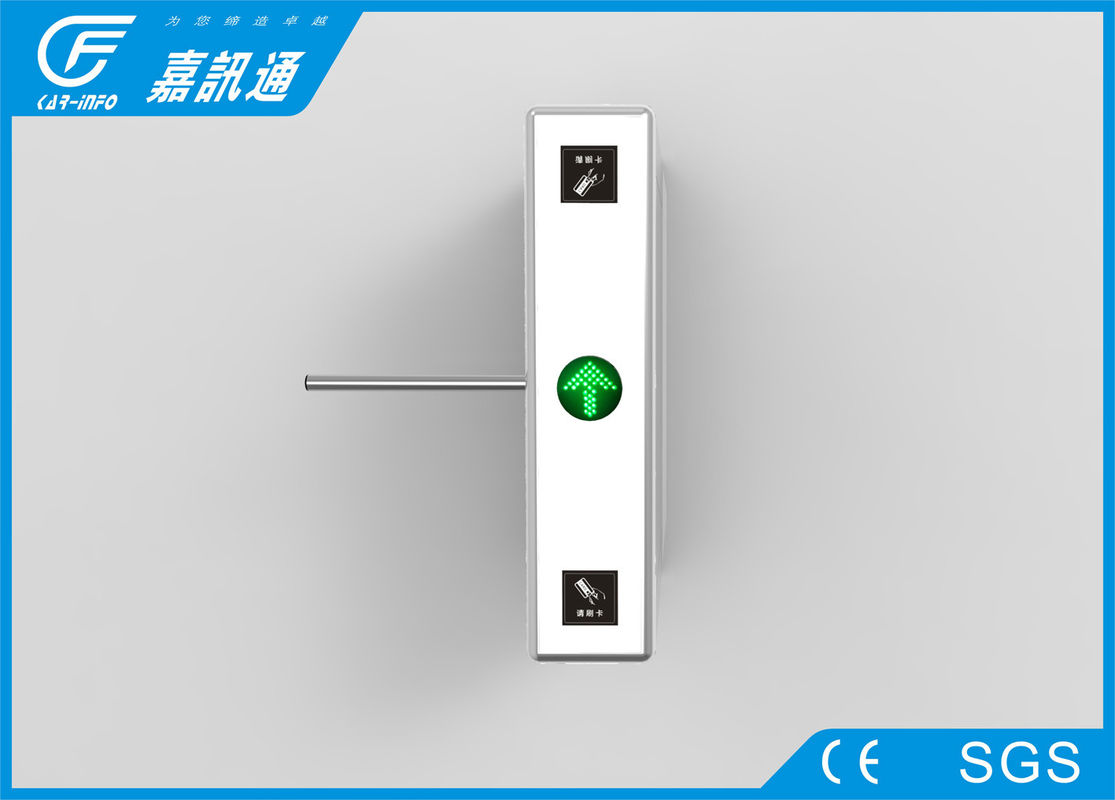 Security Fingerprint Reader Turnstile Access Control , Pulic Place Turnstile Gate Systems